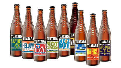 Tuatara Beer - Standing out from the beer crowd
